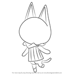 How to Draw Blanca from Animal Crossing