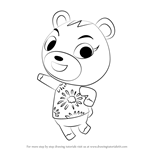 How to Draw Cheri from Animal Crossing