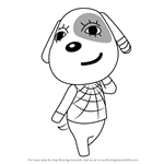 How to Draw Cherry from Animal Crossing