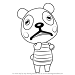 How to Draw Chester from Animal Crossing