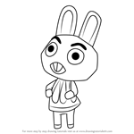 How to Draw Cole from Animal Crossing