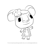 How to Draw Faith from Animal Crossing