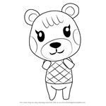 How to Draw Maple from Animal Crossing