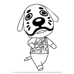 How to Draw Marcel from Animal Crossing