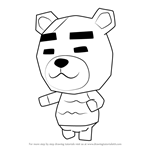How to Draw Murphy from Animal Crossing