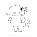 How to Draw Nosegay from Animal Crossing