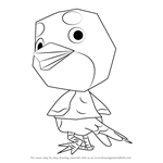 How to Draw Otis from Animal Crossing
