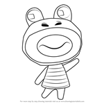 How to Draw Prince from Animal Crossing
