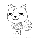 How to Draw Static from Animal Crossing