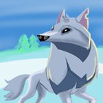 How to Draw Arctic Wolf from Animal Jam