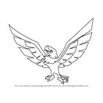 How to Draw Eagle from Animal Jam