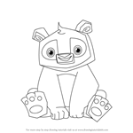 How to Draw Panda from Animal Jam