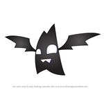 How to Draw Pet Bat from Animal Jam