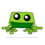 How to Draw Pet Frog from Animal Jam