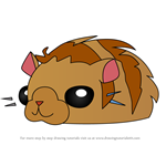 How to Draw Pet Hamster from Animal Jam