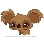 How to Draw Pet Koala from Animal Jam