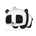 How to Draw Pet Panda from Animal Jam