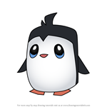 How to Draw Pet Penguin from Animal Jam