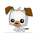 How to Draw Pet Puppy from Animal Jam