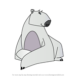 How to Draw Polar Bear from Animal Jam