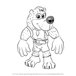 How to Draw Banjo from Banjo-Kazooie
