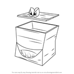 How to Draw Boss Boom Box from Banjo-Kazooie