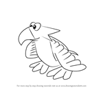 How to Draw Eyrie from Banjo-Kazooie