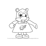 How to Draw Soggy from Banjo-Kazooie