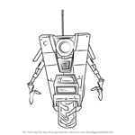 How to Draw Claptrap from Borderlands