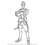 How to Draw Handsome Jack from Borderlands
