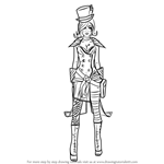 How to Draw Mad Moxxi from Borderlands
