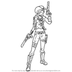 How to Draw Nisha from Borderlands