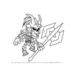 How to Draw Azoth from Brawlhalla