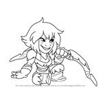 How to Draw Kaya from Brawlhalla