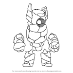 How to Draw Kor from Brawlhalla