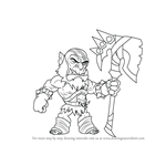 How to Draw Xull from Brawlhalla