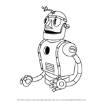 How to Draw Dr. Kahl's Robot from Cuphead