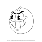 How to Draw Goopy Le Grande from Cuphead