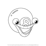 How to Draw Mangosteen from Cuphead