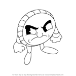 How to Draw Quint from Cuphead