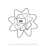 How to Draw Ginger from Cut the Rope