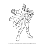 How to Draw Demitri Maximoff from Darkstalkers