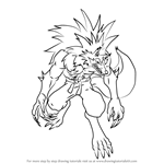 How to Draw Jon Talbain from Darkstalkers