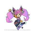 How to Draw Cleo from Dragalia Lost