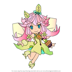 How to Draw Notte from Dragalia Lost