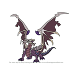 How to Draw Zodiark Dragon from Dragalia Lost
