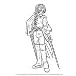 How to Draw Angelo from Dragon Quest VIII