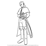 How to Draw Marcello from Dragon Quest VIII