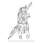 How to Draw Ara Haan from Elsword