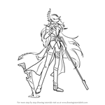 How to Draw Demonio from Elsword
